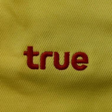 งานปักเสื้อโปโล LOGO TRUE