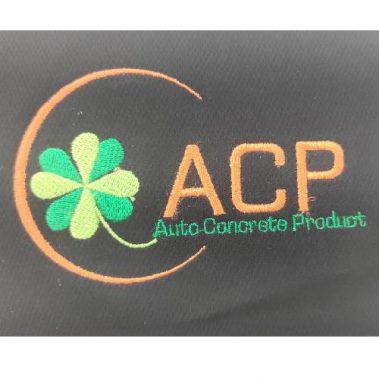 งานปักเสื้อโปโล LOGO ACP