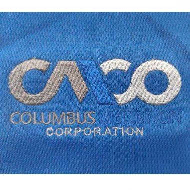 งานปักเสื้อโปโล LOGO Cmco