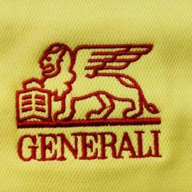 งานปักเสื้อโปโล LOGO GENERALI