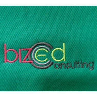 งานปักเสื้อโปโล LOGO BIZED