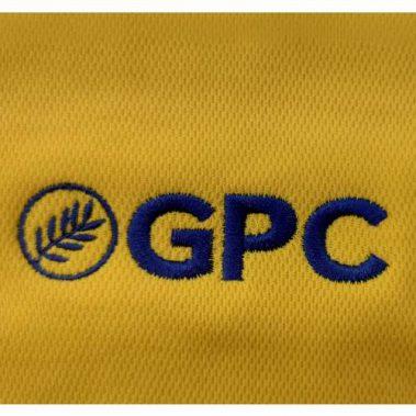 งานปักเสื้อโปโล LOGO GPC