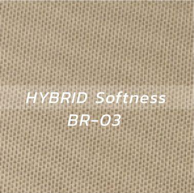 ผ้า HYBRID Softness BR-03