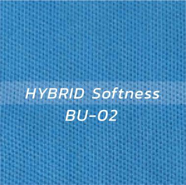 ผ้า HYBRID Softness BU-02