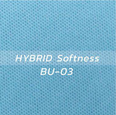 ผ้า HYBRID Softness BU-03