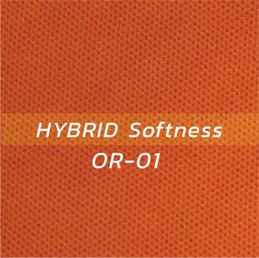 ผ้า HYBRID Softness OR-01