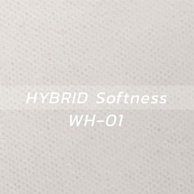 ผ้า HYBRID Softness WH-01